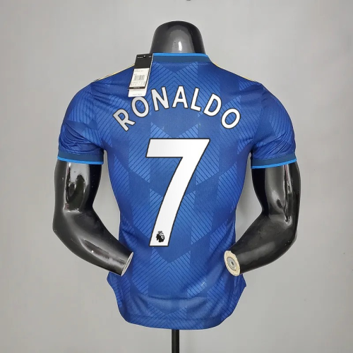 21-22  Manchester United Third Player Jersey with 7#RONALDO