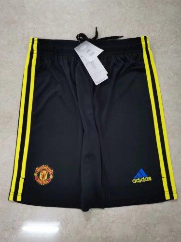 21-22 Manchester United Third Shorts