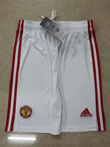21-22Manchester United Home Shorts