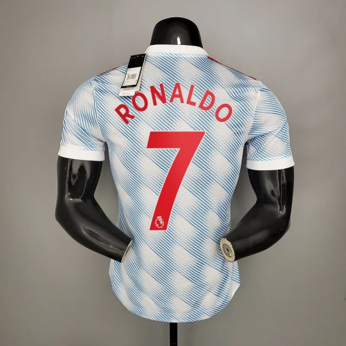 21-22  Manchester United Away Player Jersey with 7#RONALDO