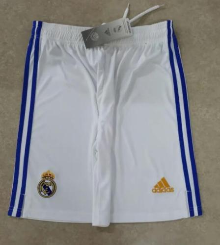 21-22  Real Madrid Home Shorts