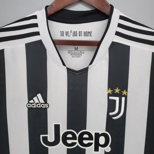 21-22 Juventus Home Long Sleeve Jersey