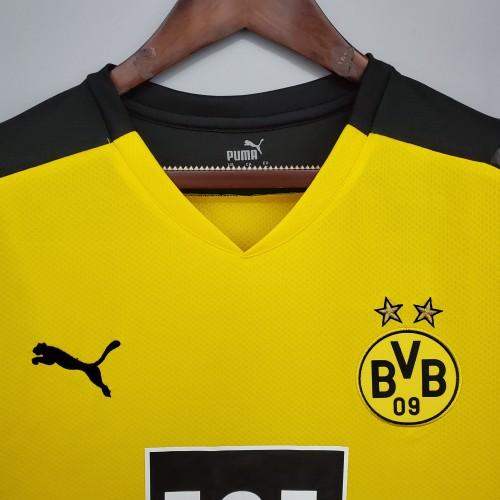 21-22 Dortmund Home Long Sleeve Jersey