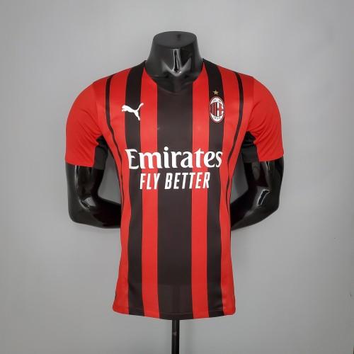 21-22 AC Milan Home Player Jersey