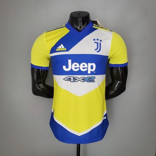 21-22 Juventus Third Player Jersey