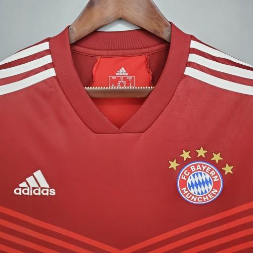 21-22 Bayern Munich  Home Fans Jersey
