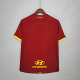 21-22 Roma Home Fans Jersey