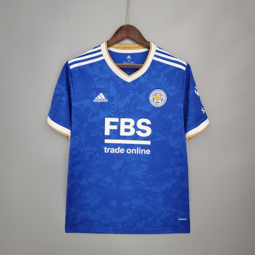 21-22 Leicester City Home Fans Jersey