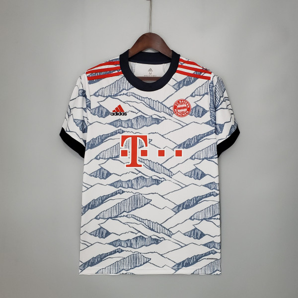 21-22 Bayern Munich Third Fans Jersey