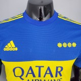 21-22 Boca Home Player Jersey