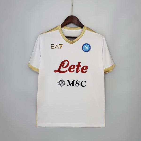 21-22 Napoli  Third White Jersey