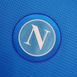 21-22 Napoli  Home  Blue Jersey