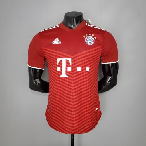 21-22 Bayern Munich  Home Player Jersey