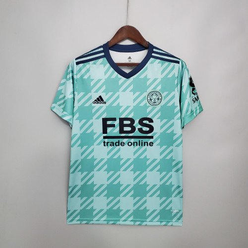 21-22 Leicester City Away Fans Jersey