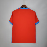 21-22 Napoli  Away Red Jersey