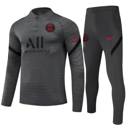 21-22 PSG Black Training suit