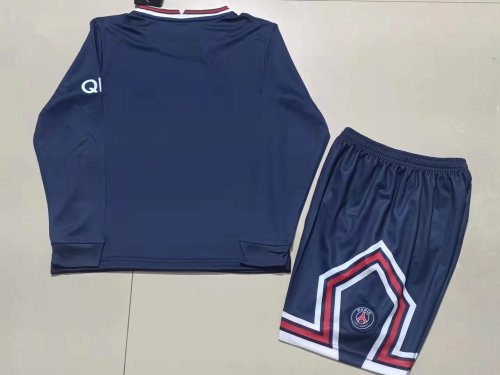 21-22 PSG Home Long Sleeve Kid Kit