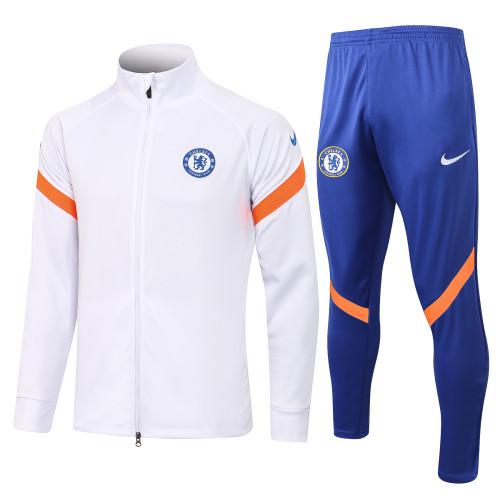 21-22 Chelsea White Jacket Suit