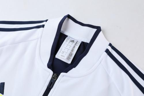 21-22 Juventus White-Blue Jacket Suit