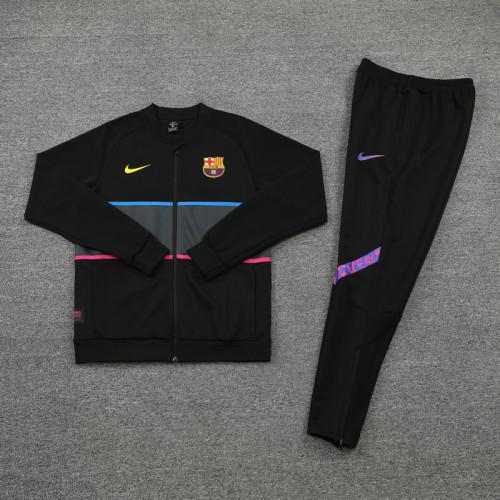 21-22 Barcelona Black Jacket Suit