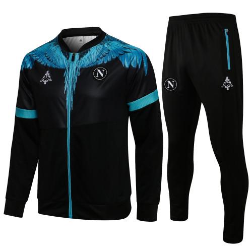 21-22 Napoli Black Jacket Suit