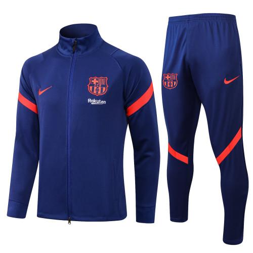 21-22 Barcelona Blue Jacket Suit