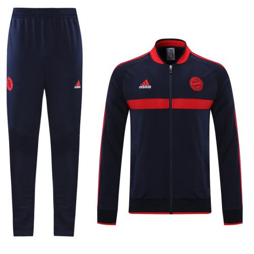 21-22 Bayern Munich Royal Blue Jacket Suit
