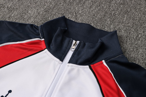 21-22 PSG Jordan White Jacket Suit