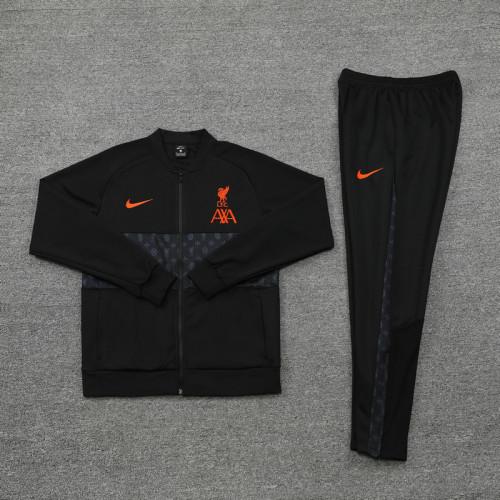 21-22 Liverpool New Black Jacket Suit
