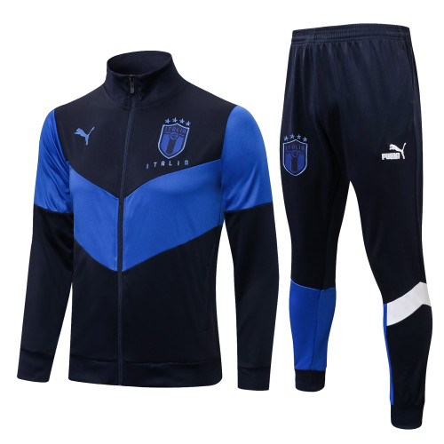 2021 Italy Blue Jacket Suit