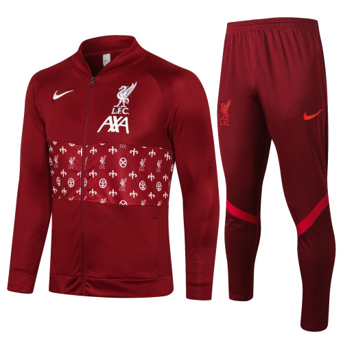 21-22 Liverpool Royal Red Jacket Suit