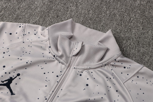 21-22 PSG Jordan Gray Jacket Suit