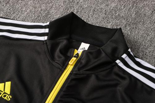 21-22 Juventus Black Jacket Suit