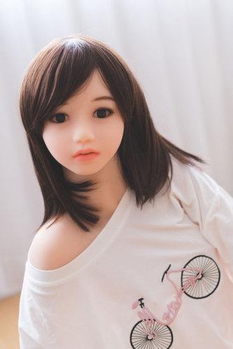 〖藤原理奈〗125cm明るい 可愛い 貧乳ラブドール   JYDOLL