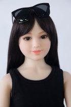〖藤原美奈〗126cm愛嬌抜群童顔 セックス人形  AXB DOLL#A48