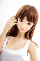 〖Tina〗145cm 軟らかい童顔 セックス人形 Irontechdoll