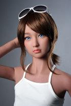 〖藤原光〗130cm 明るい  可愛い セックス人形AXB DOLL#A16