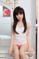 〖藤原恵里〗130cm 可愛い小さい胸リアルドール AXB DOLL#A20
