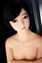 〖藤原麻里〗135cm平らな胸美少女系 セックス人形  JYDOLL