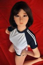 〖藤原励子〗135cm黒髪可愛い良乳ラブドール  AXB DOLL#51