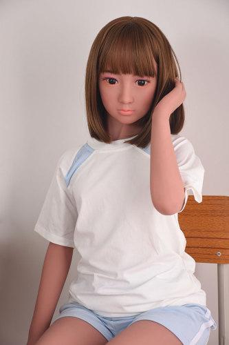 〖藤原登美江〗138cm金髪清楚系 セックス人形 AXB DOLL#A31