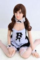 〖藤原莉珂〗138cm茶髪 癒し系セックス人形 AXB DOLL#A18