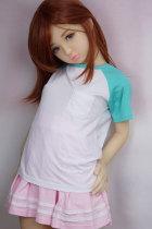 〖Bel〗132cm茶髪童顔ラブドール EVO版 Dollhouse168
