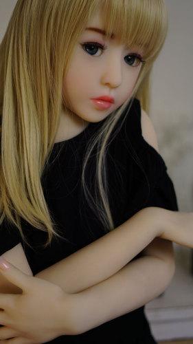 〖Molly〗128cm金髪ロリリアルドール EVO版Dollhouse168