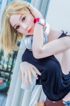 〖藤原朋美〗168cm金髪 美乳 セックス人形 WM DOLL#70