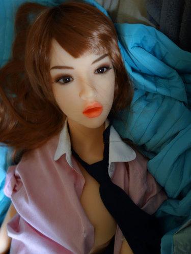 〖藤原佐智子〗135cm 愛嬌抜群熟女 セックス人形  WM DOLL#9