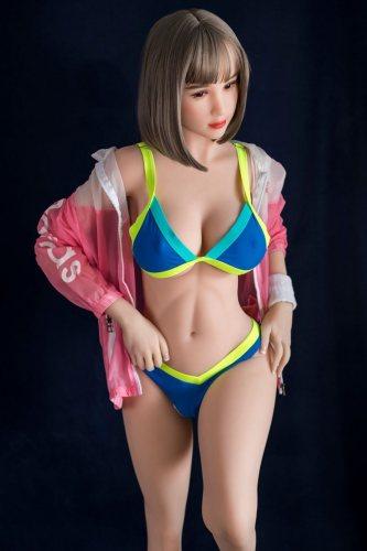 〖藤原唯〗165cm E-cup 感度抜群 短い髪 ビキニ セックス人形  Fire Doll#2