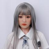 158cm Yukino雪乃 DL Doll シリコン+TPElove doll Dカップ