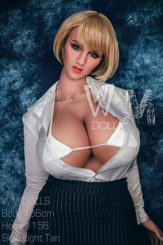 156cm【工藤理惠】WMdoll M-cupリアルラブドール#156