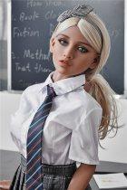 150cm学生系制服【Victoria Fairytale】Irontech Doll普乳セックス人形